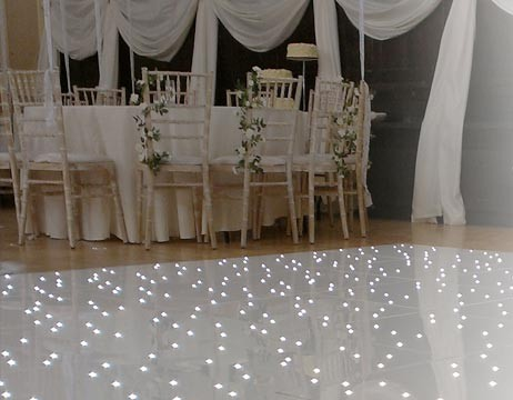Introducing our new Starlit Dance floor hire!
